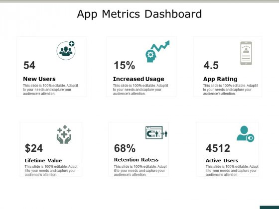 App Metrics Dashboard Ppt PowerPoint Presentation Inspiration Design Inspiration