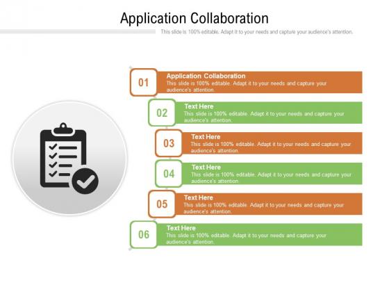 Application Collaboration Ppt PowerPoint Presentation Portfolio Themes Cpb Pdf
