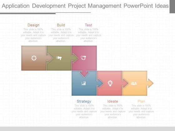 Application Development Project Management Powerpoint Ideas
