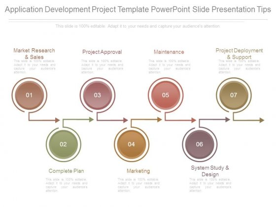Application Development Project Template Powerpoint Slide Presentation Tips
