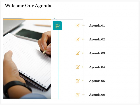 Application_Life_Cycle_Analysis_Capital_Assets_Welcome_Our_Agenda_Information_PDF_Slide_1