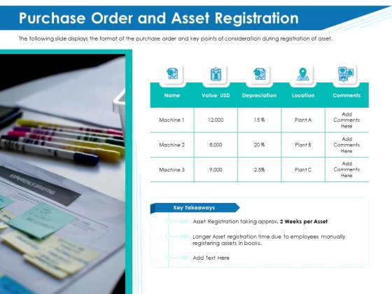 Application Lifecycle Management ALM Purchase Order And Asset Registration Themes PDF