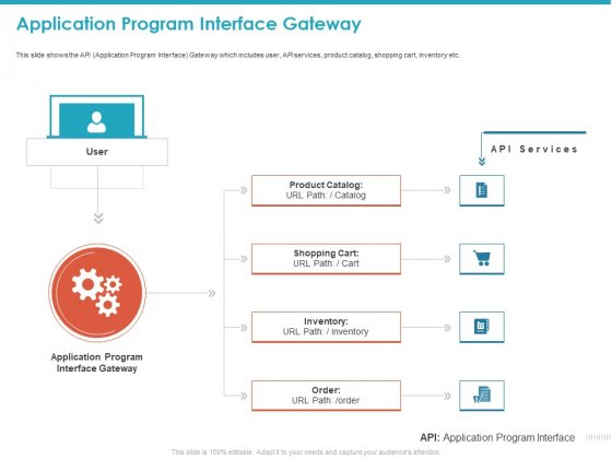 Application Program Interface Gateway Ppt Icon Graphics Example PDF
