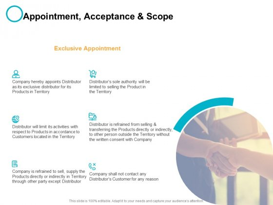 Appointment Acceptance And Scope Ppt PowerPoint Presentation Pictures Template