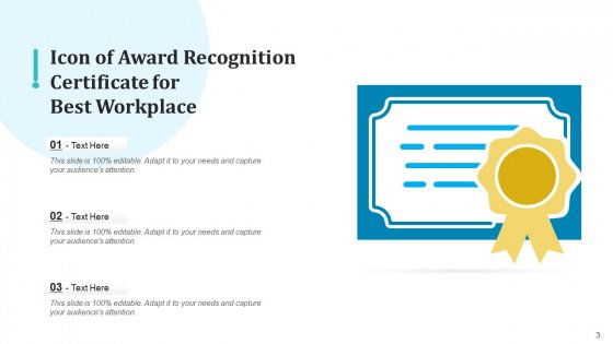 Appreciation_Icon_Performer_Magnifier_Ppt_PowerPoint_Presentation_Complete_Deck_With_Slides_Slide_3