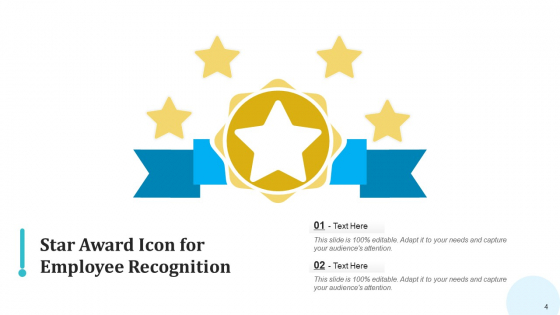 Appreciation_Icon_Performer_Magnifier_Ppt_PowerPoint_Presentation_Complete_Deck_With_Slides_Slide_4