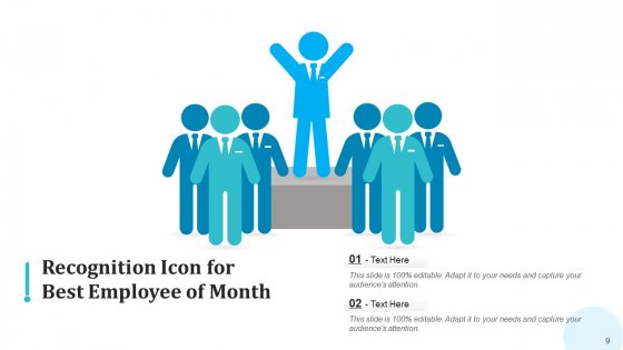 Appreciation_Icon_Performer_Magnifier_Ppt_PowerPoint_Presentation_Complete_Deck_With_Slides_Slide_9
