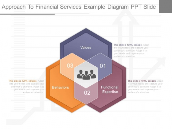Approach To Financial Services Example Diagram Ppt Slide