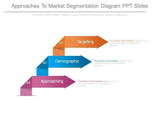 Approaches To Market Segmentation Diagram Ppt Slides