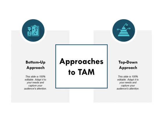 Approaches To Tam Ppt PowerPoint Presentation Inspiration Slide Download