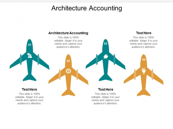 Architecture Accounting Ppt PowerPoint Presentation Portfolio Icon Cpb