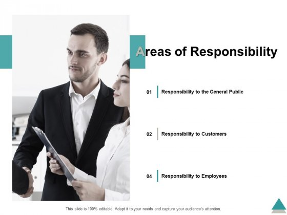 Areas Of Responsibility Ppt PowerPoint Presentation Slides Portrait