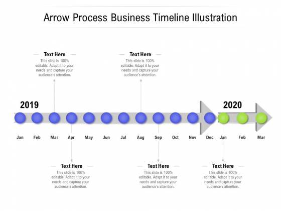 Arrow Process Business Timeline Illustration Ppt PowerPoint Presentation Portfolio Display PDF