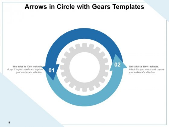 Arrows_In_Sphere_Presentation_Infographic_Gears_Ppt_PowerPoint_Presentation_Complete_Deck_Slide_8