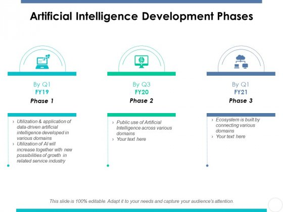 Artificial Intelligence Development Phases Ppt PowerPoint Presentation Infographics Good