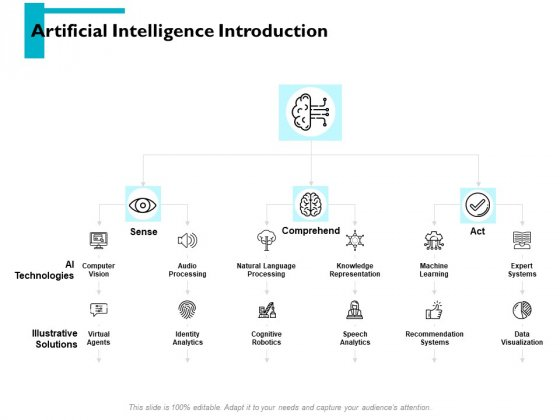 Artificial Intelligence Introduction Ppt PowerPoint Presentation File Graphics Tutorials