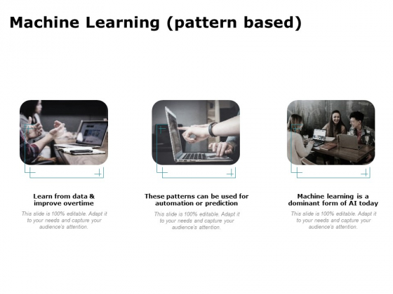 Artificial Intelligence Machine Learning Pattern Based Ppt Professional Background PDF
