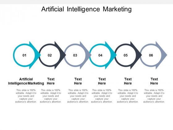 Artificial Intelligence Marketing Ppt PowerPoint Presentation Slides Graphics Template Cpb