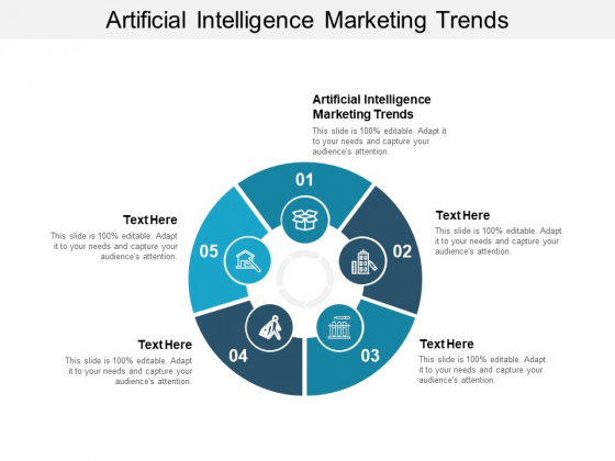 Artificial Intelligence Marketing Trends Ppt PowerPoint Presentation Infographic Template Introduction Cpb