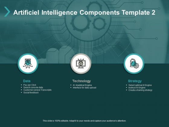 Artificiel Intelligence Components Technology Ppt PowerPoint Presentation Portfolio Slide Portrait