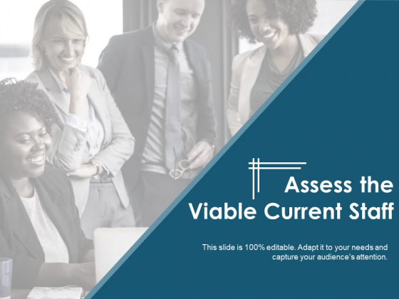 Assess The Viable Current Staff Ppt PowerPoint Presentation Model
