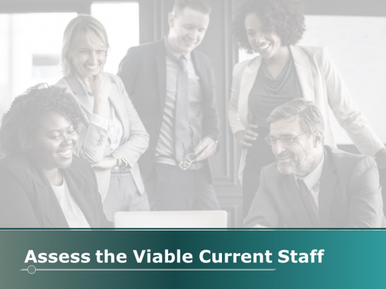 Assess The Viable Current Staff Ppt PowerPoint Presentation Pictures Icons