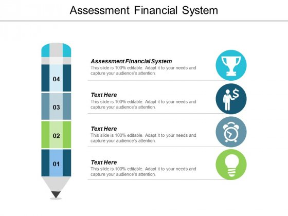 Assessment Financial System Ppt PowerPoint Presentation Icon Outfit Cpb