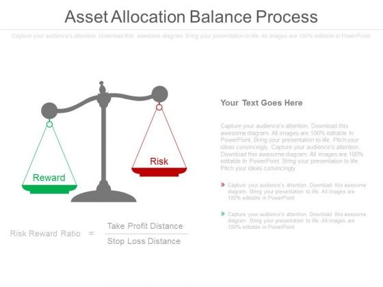 Asset Allocation Balance Process Ppt Slides