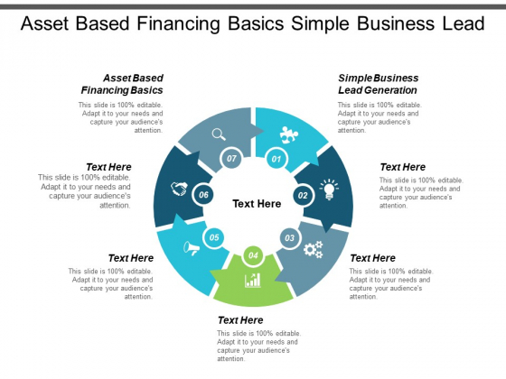 Asset Based Financing Basics Simple Business Lead Generation Ppt PowerPoint Presentation File Maker