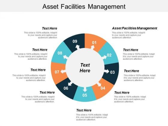 Asset Facilities Management Ppt Powerpoint Presentation Model Templates Cpb