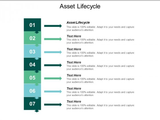 Asset Lifecycle Ppt PowerPoint Presentation Show Example Introduction Cpb