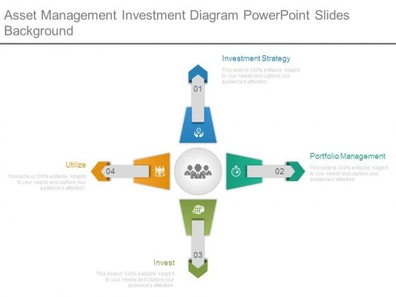 Asset Management Investment Diagram Powerpoint Slides Background