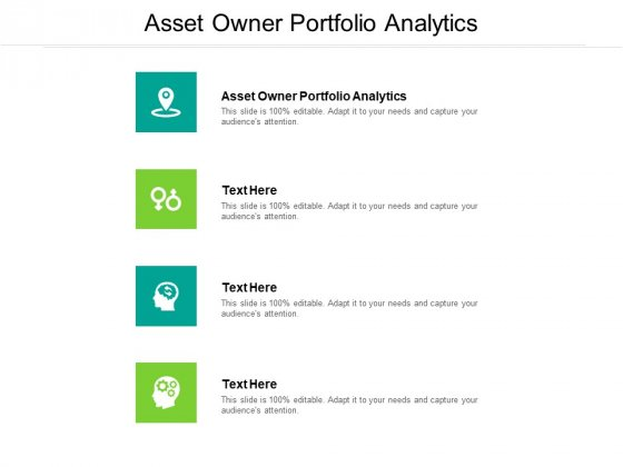 Asset Owner Portfolio Analytics Ppt PowerPoint Presentation Images Cpb Pdf