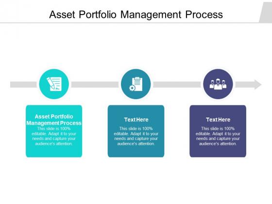Asset Portfolio Management Process Ppt PowerPoint Presentation Visual Aids Styles Cpb Pdf