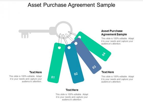 Asset Purchase Agreement Sample Ppt PowerPoint Presentation Summary Graphics Tutorials