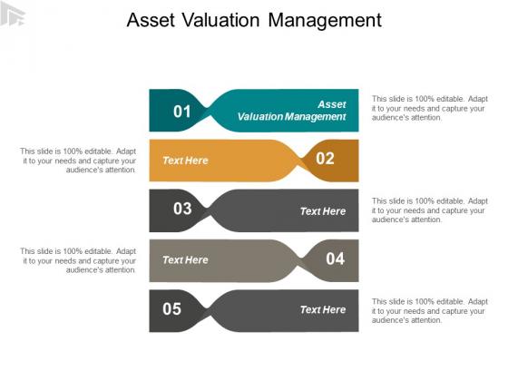 Asset Valuation Management Ppt PowerPoint Presentation File Deck Cpb