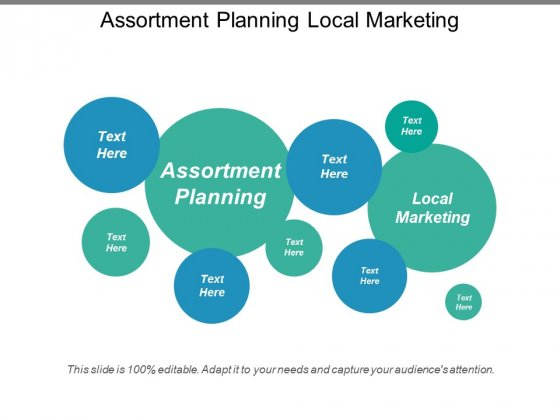 Assortment Planning Local Marketing Ppt PowerPoint Presentation Ideas Summary