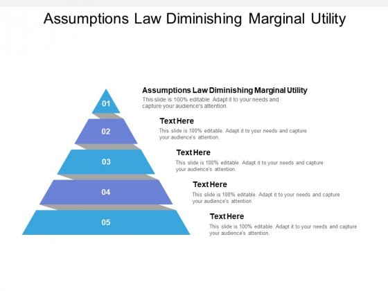 Assumptions Law Diminishing Marginal Utility Ppt PowerPoint Presentation Visual Aids Styles Cpb