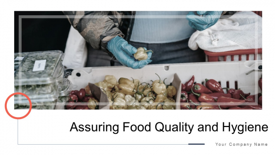Assuring Food Quality And Hygiene Ppt PowerPoint Presentation Complete Deck With Slides