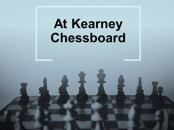 At Kearney Chessboard Ppt PowerPoint Presentation Complete Deck With Slides