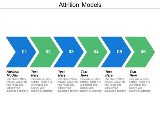 Attrition Models Ppt Powerpoint Presentation Summary Icons Cpb