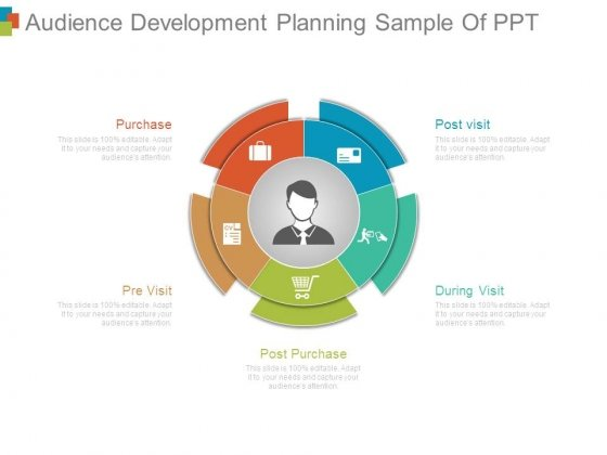 Audience Development Planning Sample Of Ppt