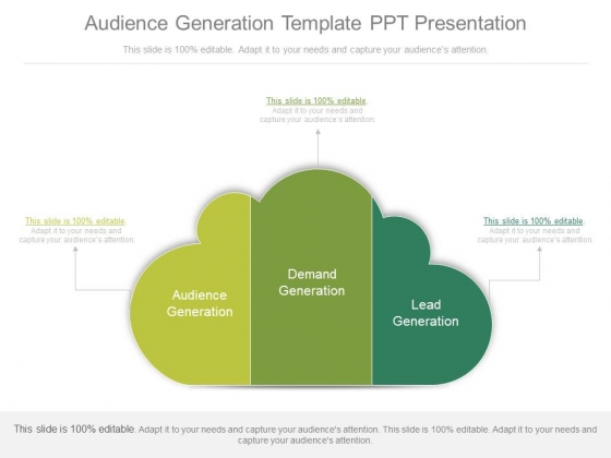 Audience Generation Template Ppt Presentation
