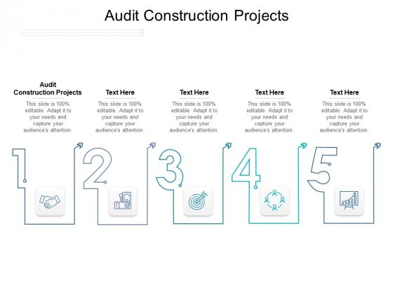 Audit Construction Projects Ppt PowerPoint Presentation Gallery Template Pdf
