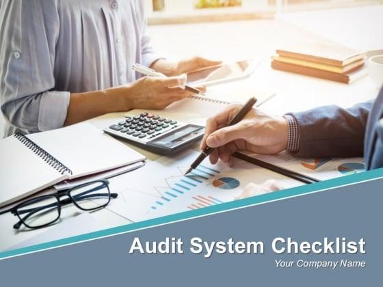 Audit System Checklist Powerpoint Presentation Slides
