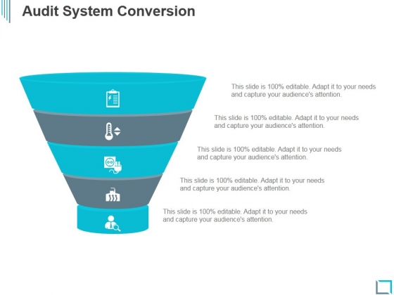 Audit System Conversion Ppt PowerPoint Presentation Microsoft