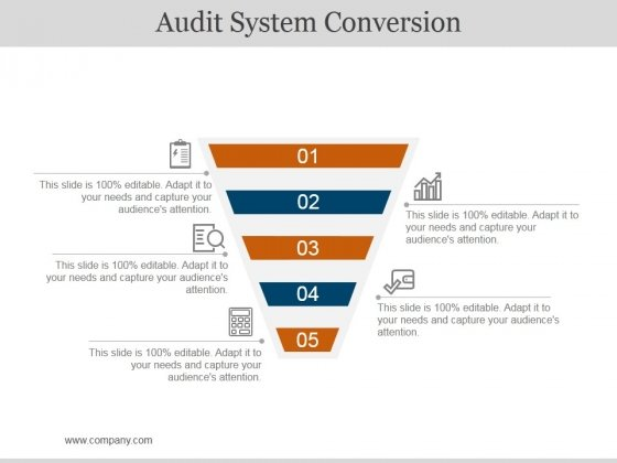 Audit System Conversion Ppt PowerPoint Presentation Model