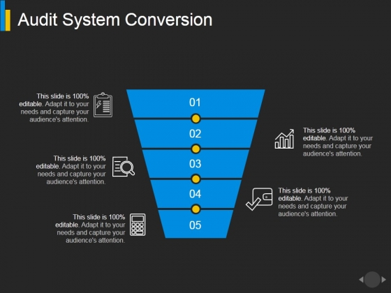 Audit System Conversion Ppt PowerPoint Presentation Styles Graphic Tips