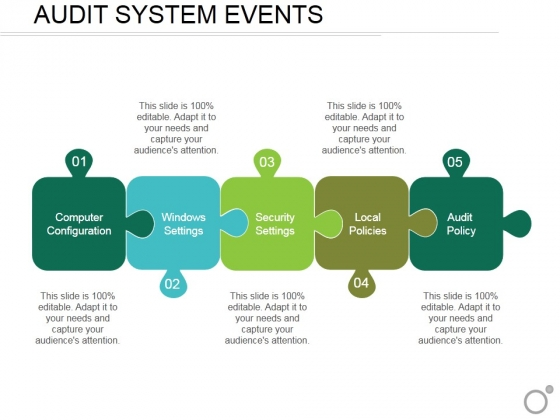 Audit System Events Ppt PowerPoint Presentation Professional Display