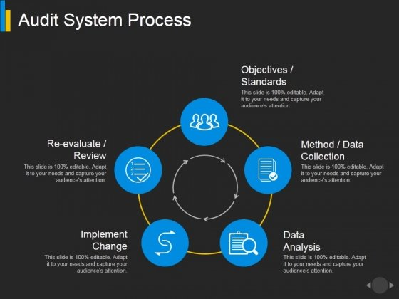 Audit System Process Ppt PowerPoint Presentation File Shapes